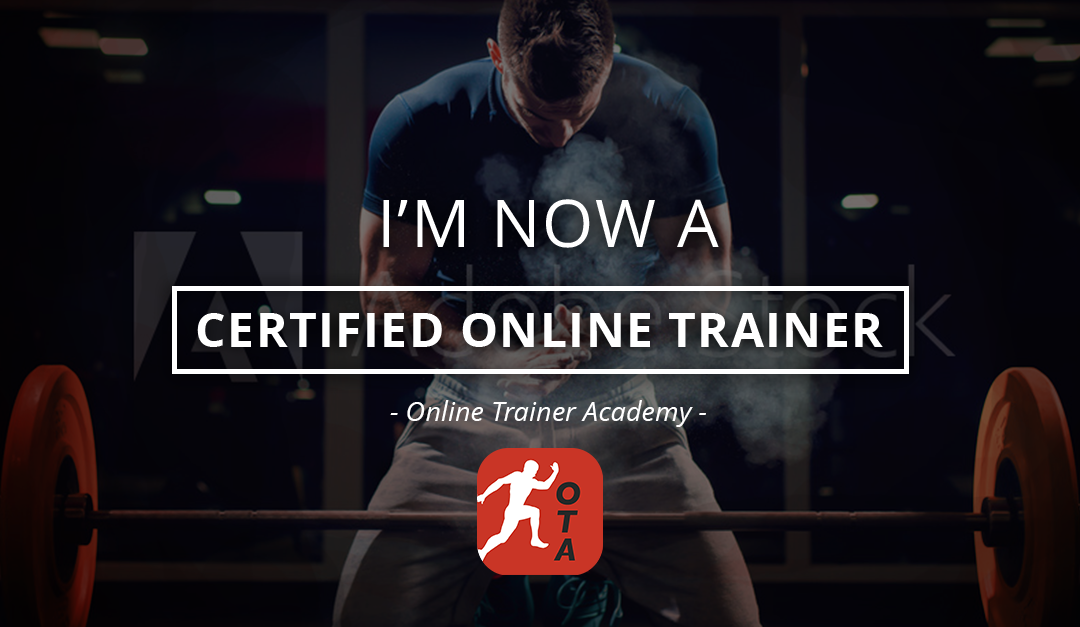 I'm a Certified Online Trainer! But it wasn't easy…